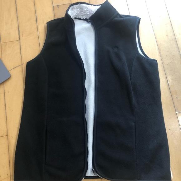 Brooks Brothers Other - Brooks Brothers L Black Mens polyester vest